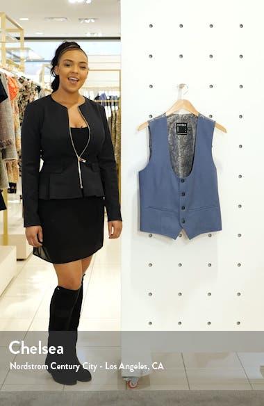 Slim Fit Suit Vest, sales video thumbnail