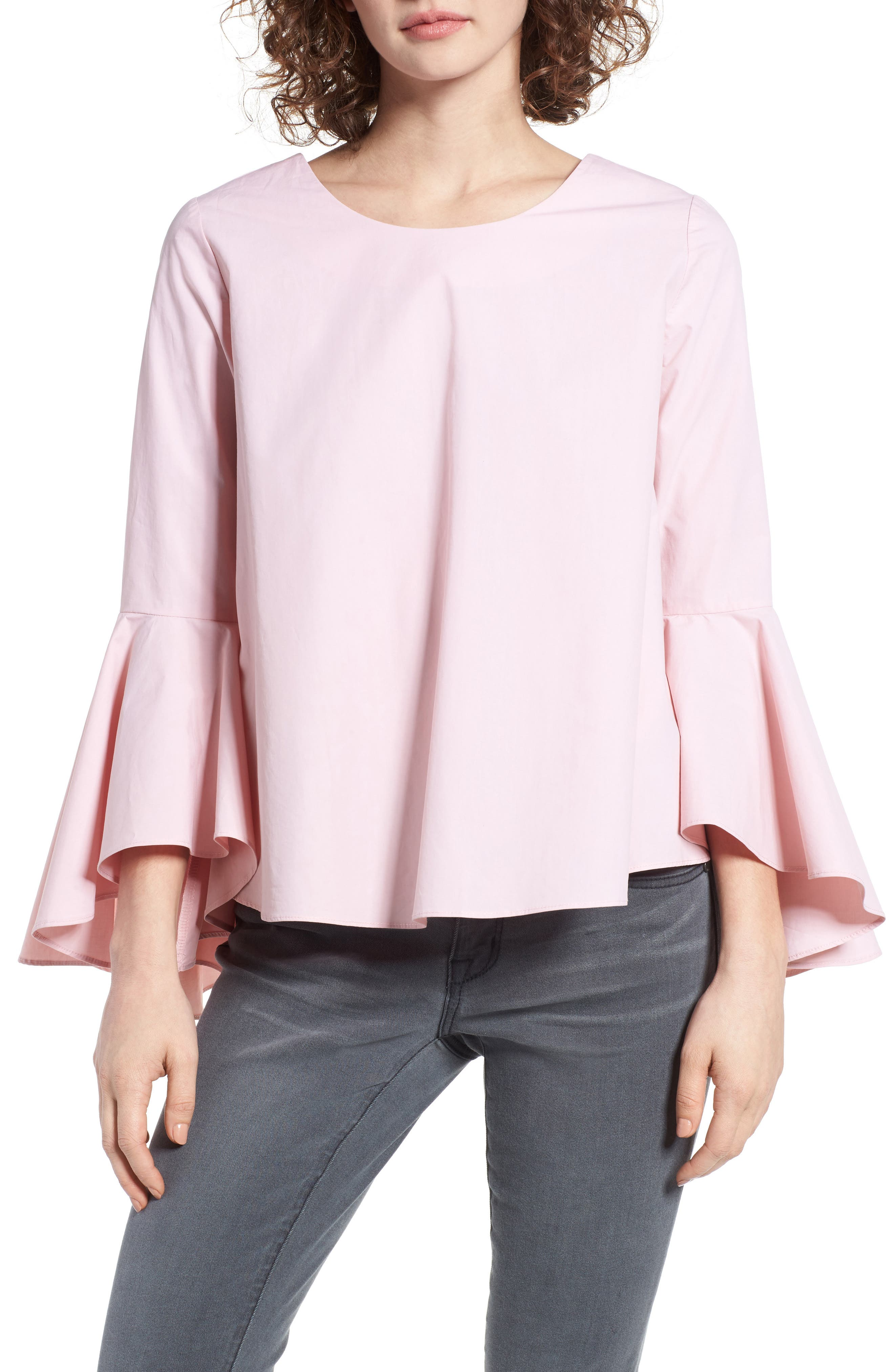 ,                             Bell Sleeve Top,                             Main thumbnail 11, color,                             654