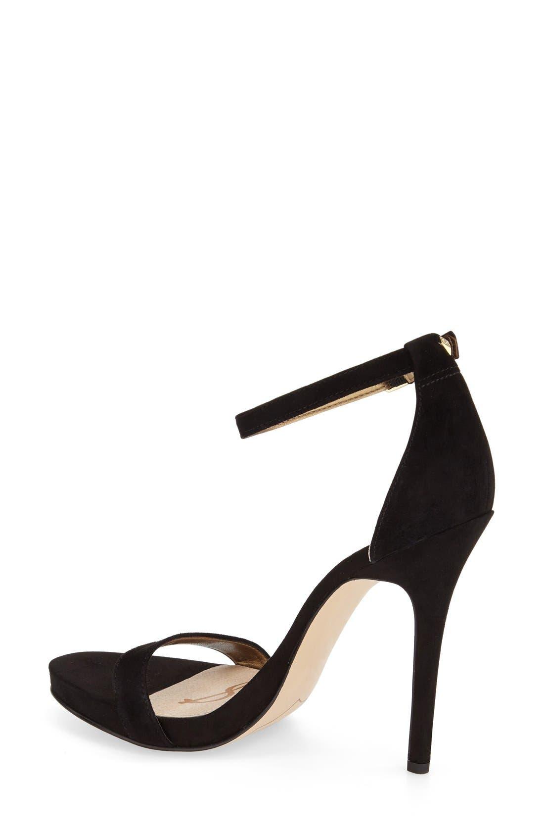 ,                             'Eleanor' Ankle Strap Sandal,                             Alternate thumbnail 22, color,                             003