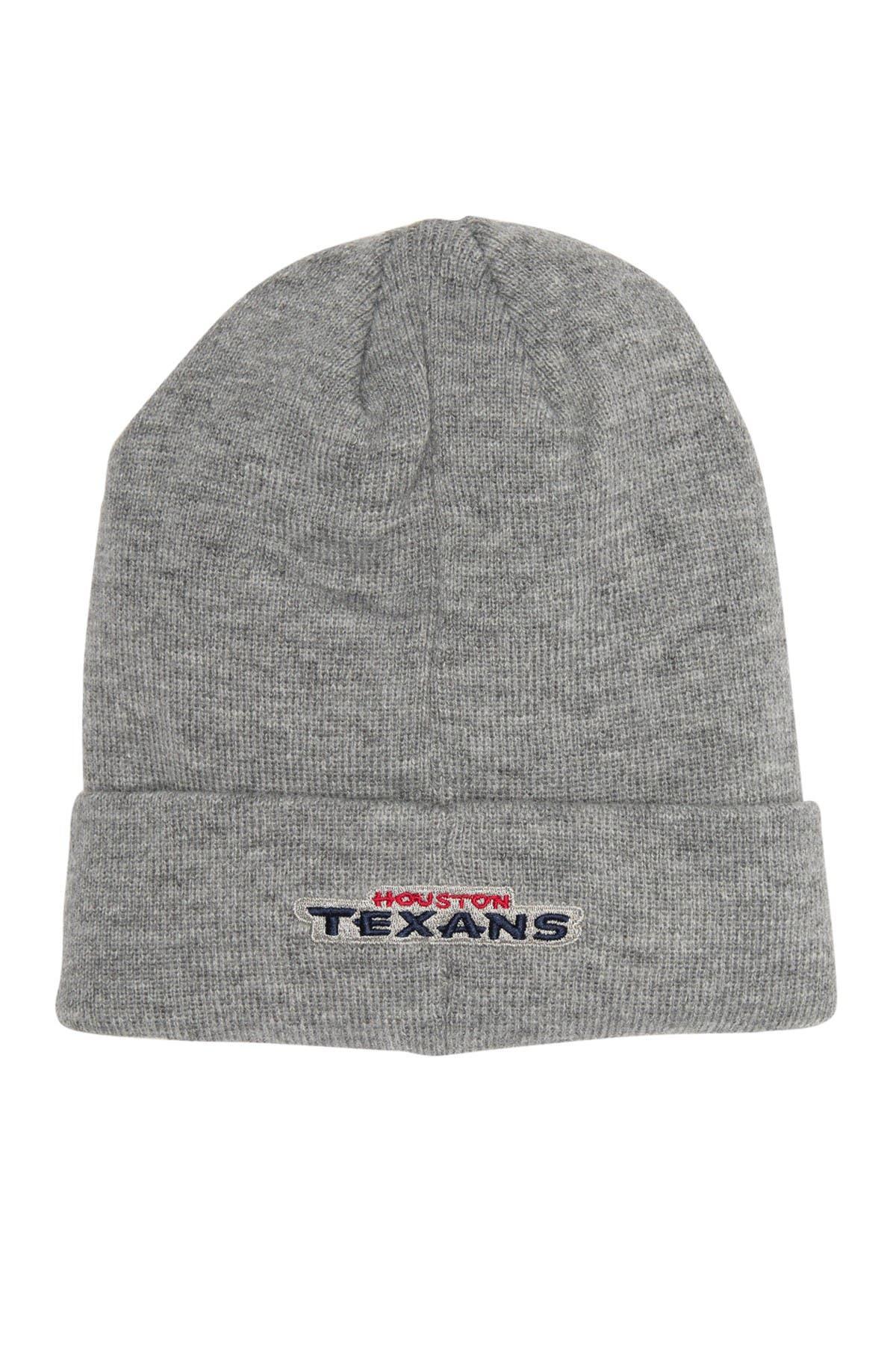 Image of NFL Logo NFL Houston Texans Beanie Hat