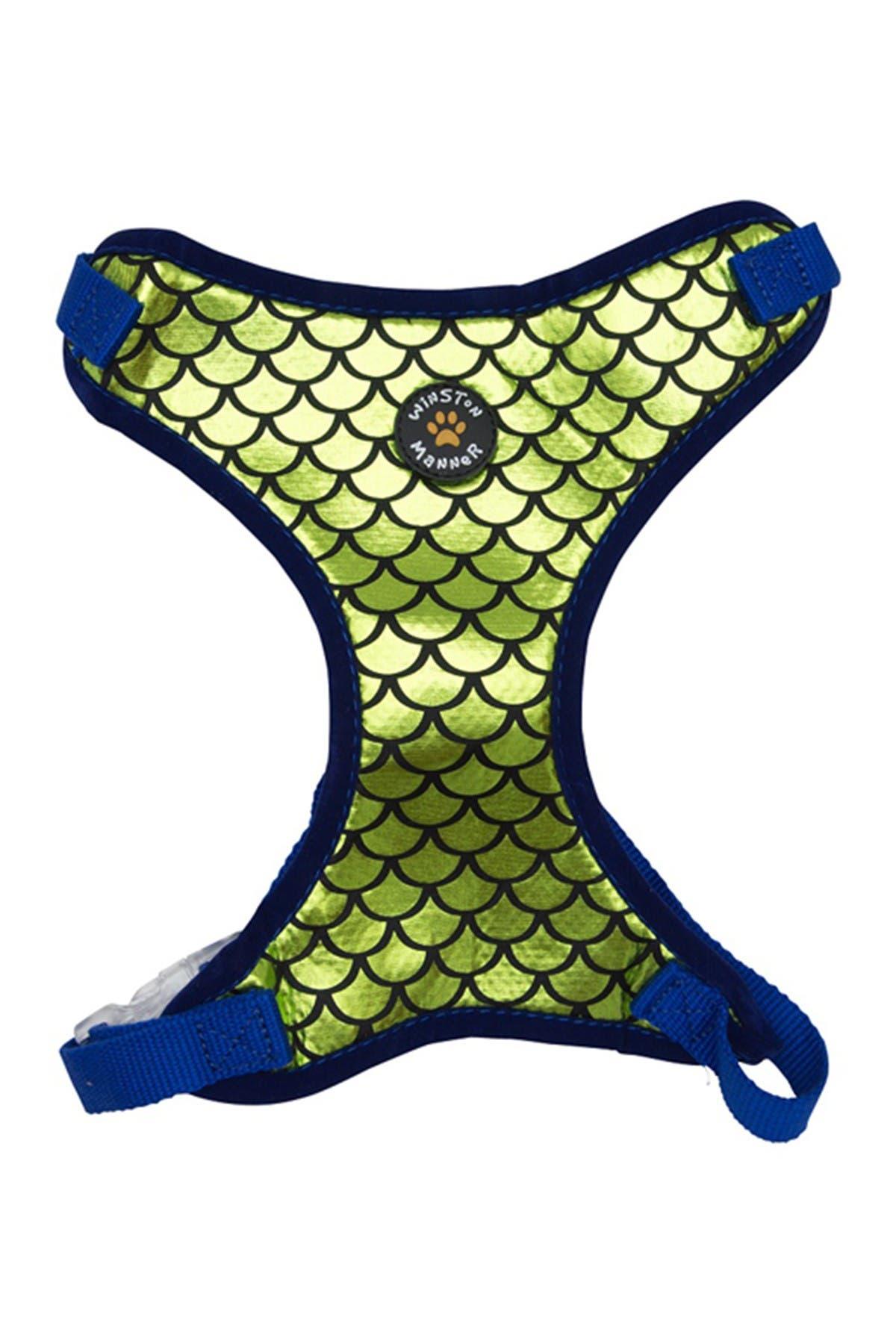 Image of Winston Manner Small Green Atlantis Harness