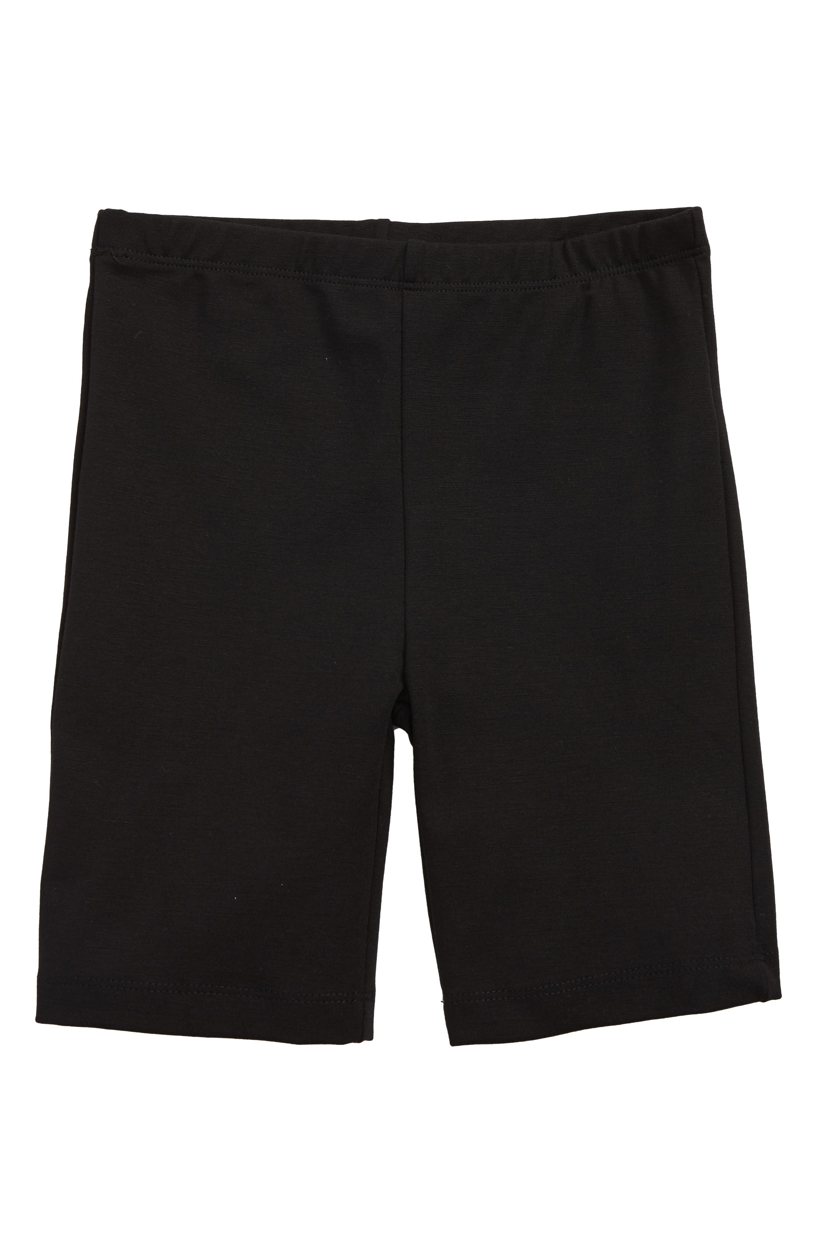 Girls Good Luck Girl Bike Shorts Size XL (16)  Black