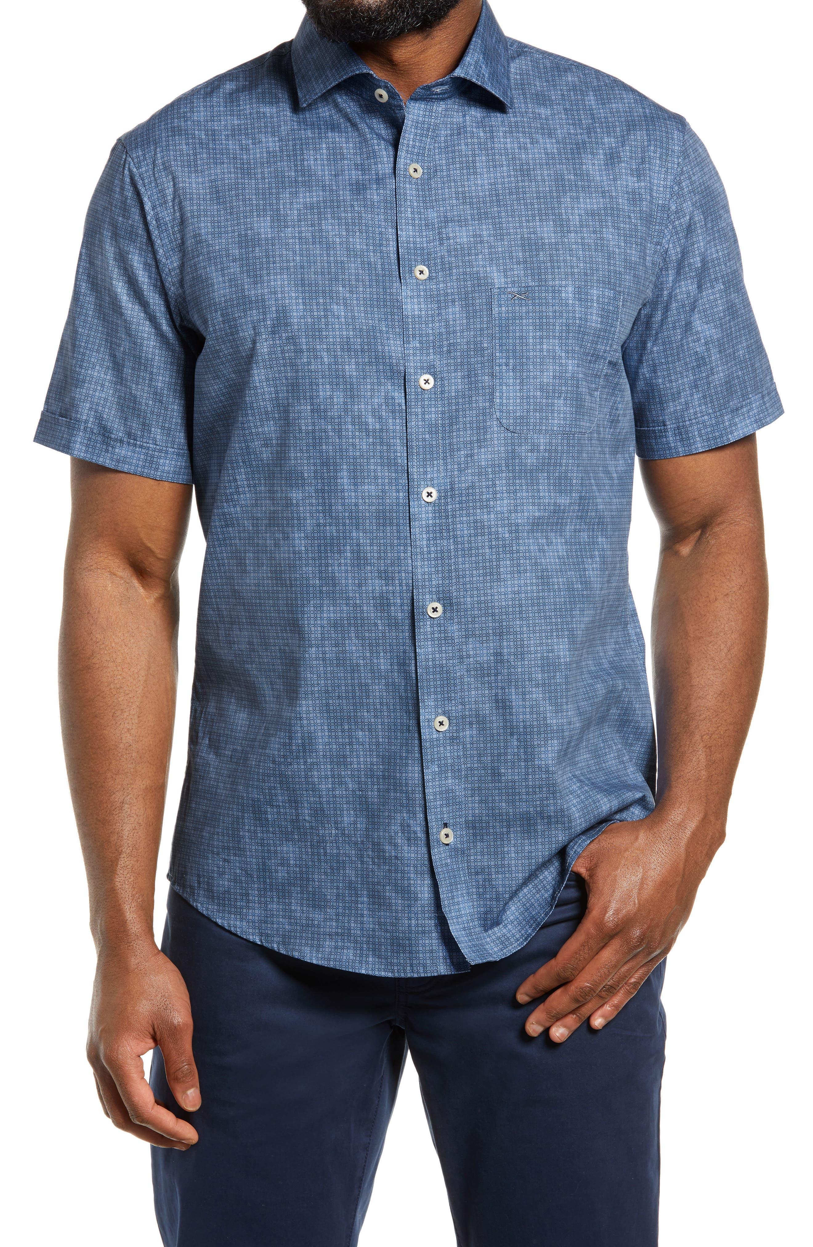 Hardy Regular Fit Short Sleeve Button-Up Shirt