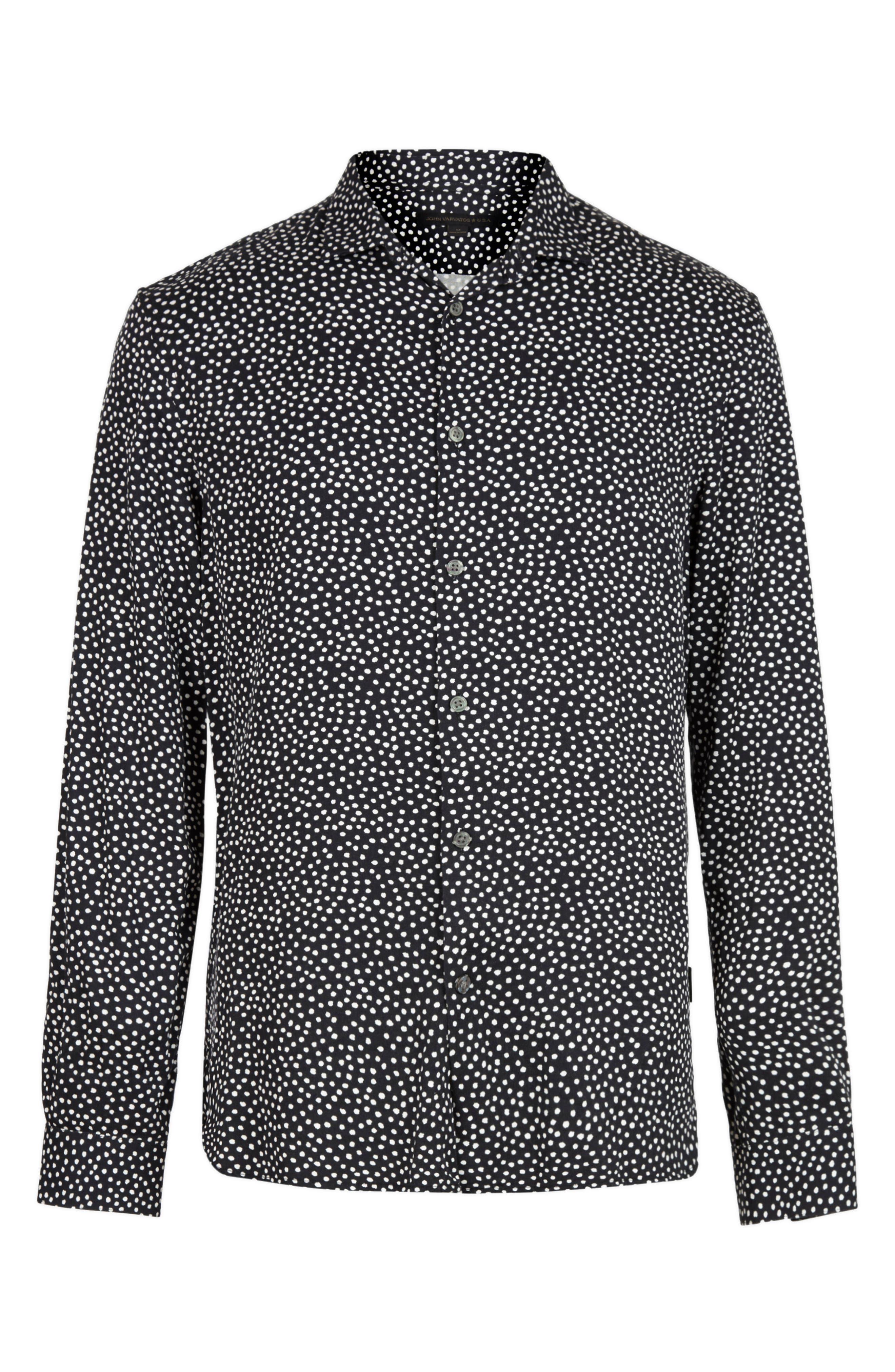 Ross Slim Fit Button-Up Shirt