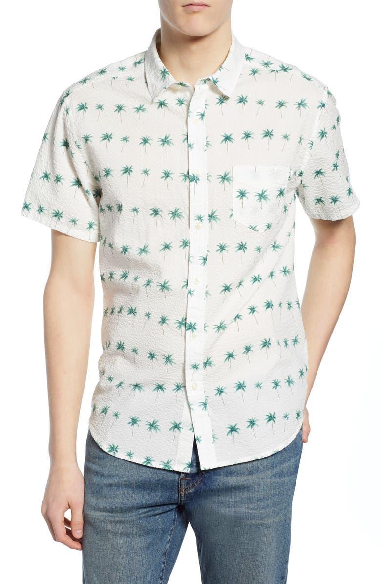 LIFE/AFTER/DENIM Cook Islands Regular Fit Shirt, Main, color, 111