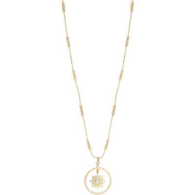 Ettika Long Starburst Pendant Necklace