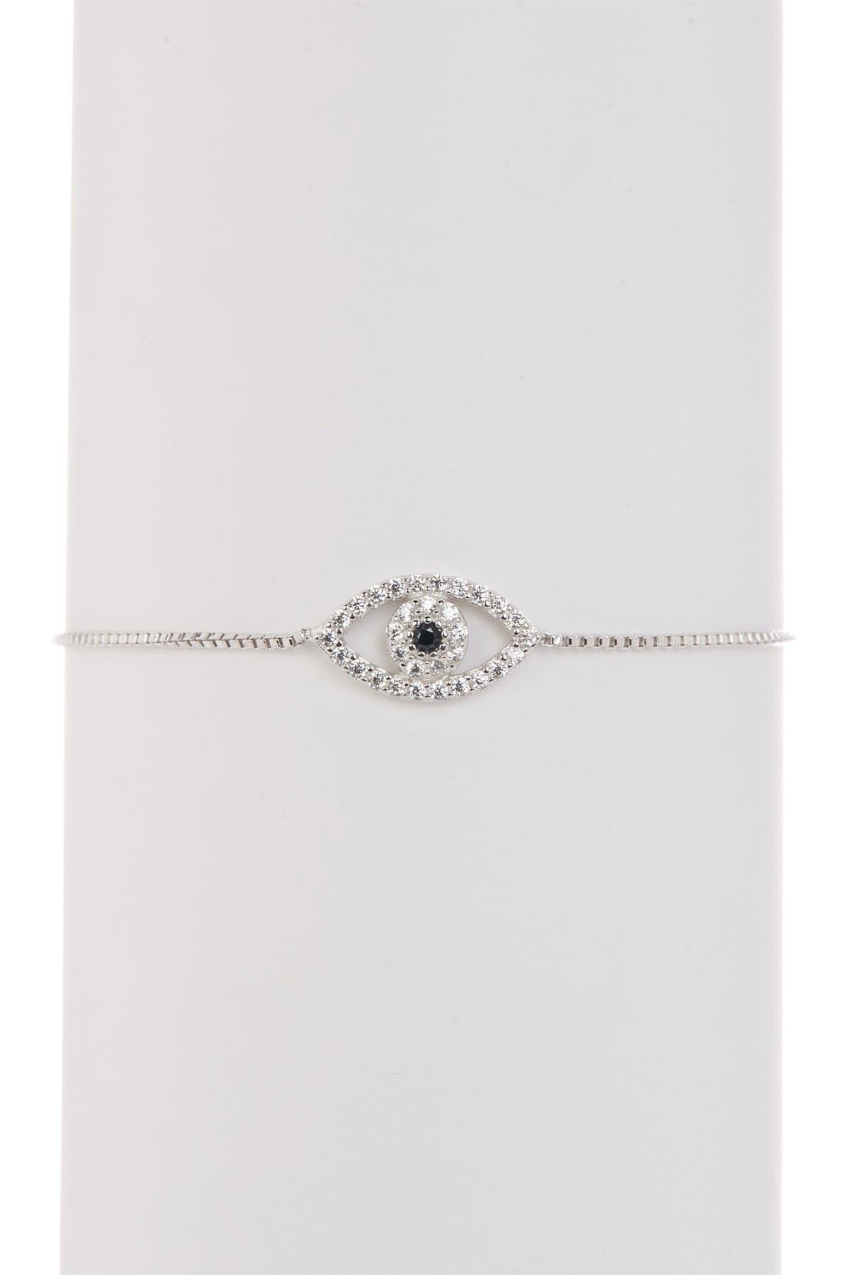 Serebra Jewelry Boucles doreilles /œil m/échant en argent sterling 925 Evil Eye Nazar