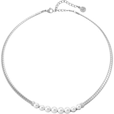 Majorica Graduated Simulated Pearl Necklace