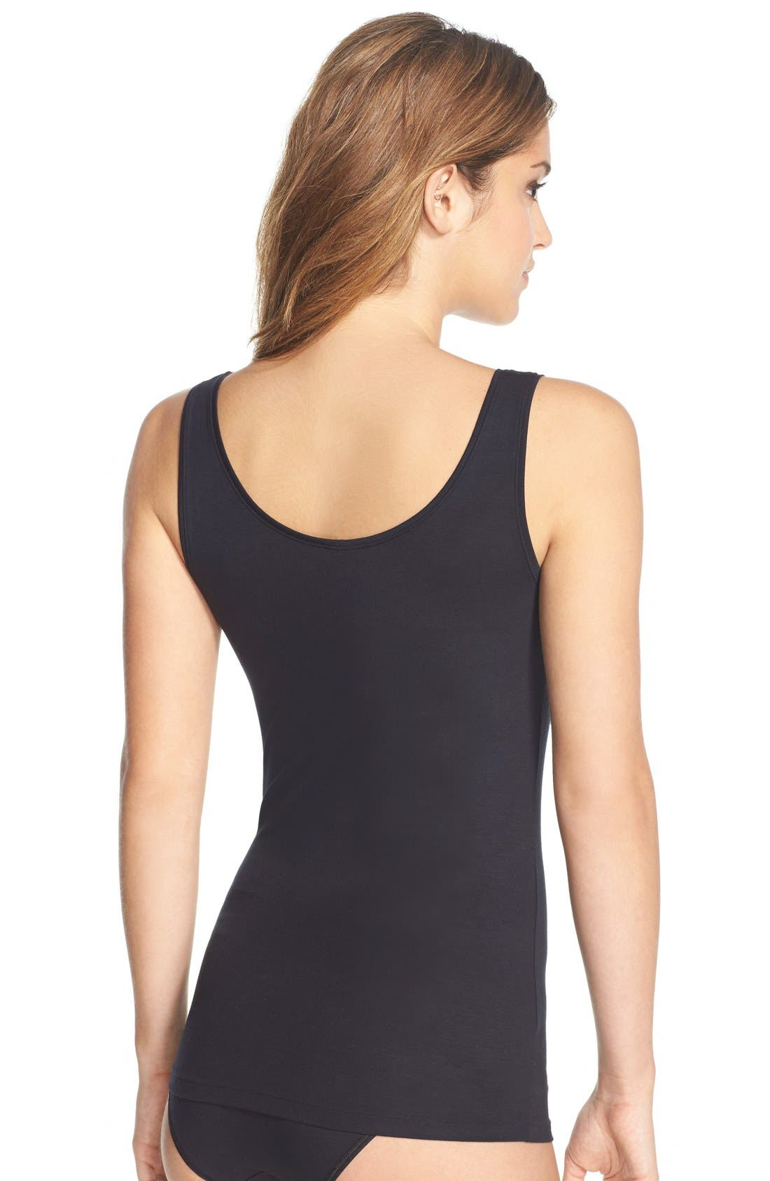 ,                             'Soft Touch' Layering Tank,                             Alternate thumbnail 7, color,                             BLACK