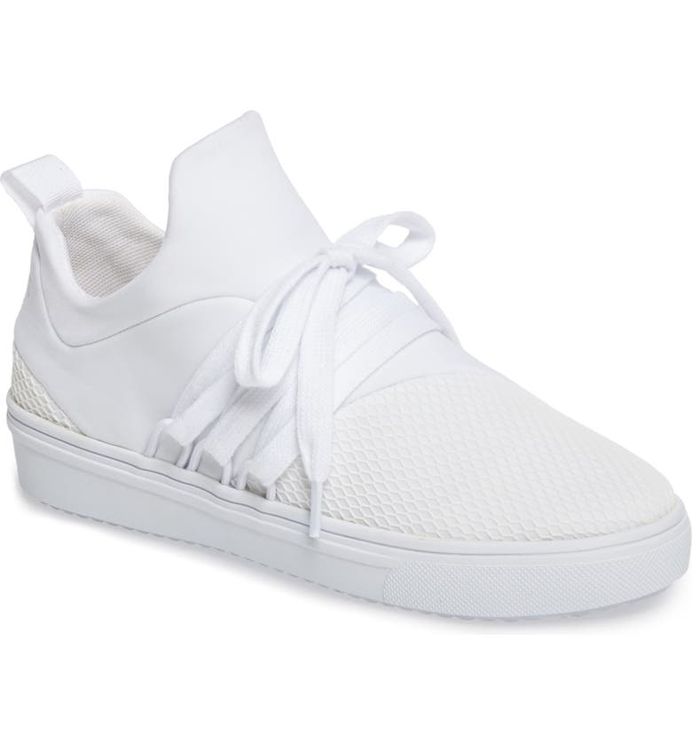 STEVE MADDEN Lancer Sneaker, Main, color, 100