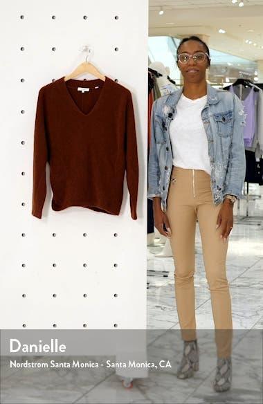 V-Neck Dolman Sleeve Cashmere Sweater, sales video thumbnail