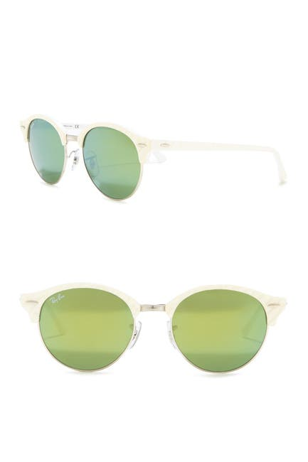 Image of Ray-Ban Icons 51mm Clubmaster Sunglasses