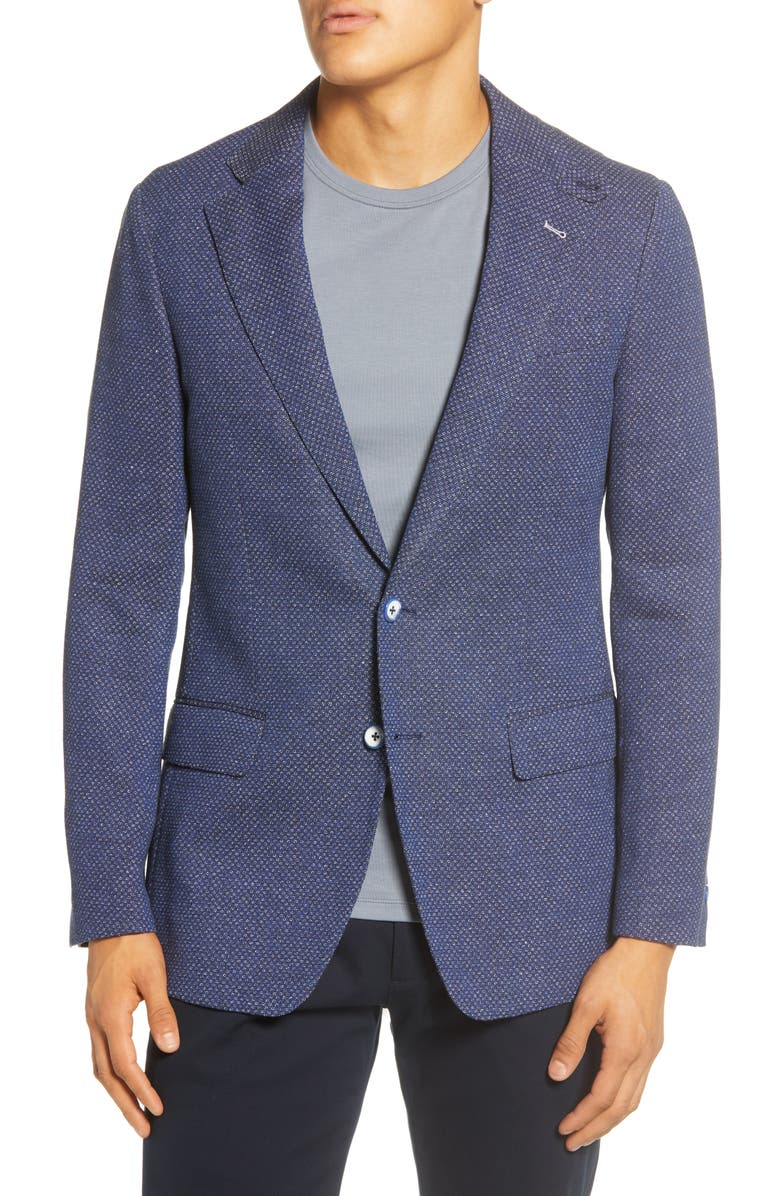 ROBERT GRAHAM Trinity Sport Coat, Main, color, BLUE