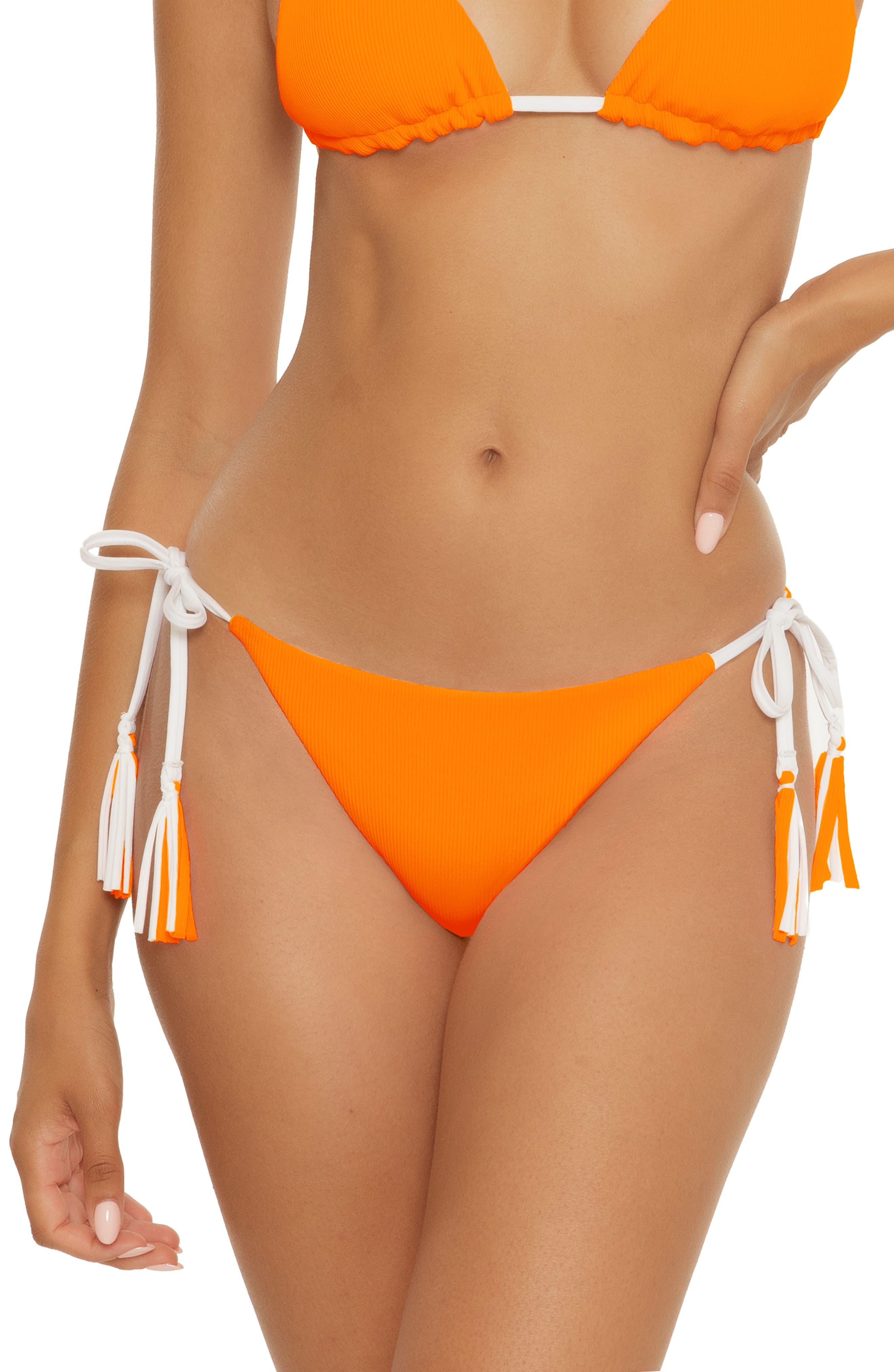 Fine Line Reversible Side Tie Bikini Bottoms