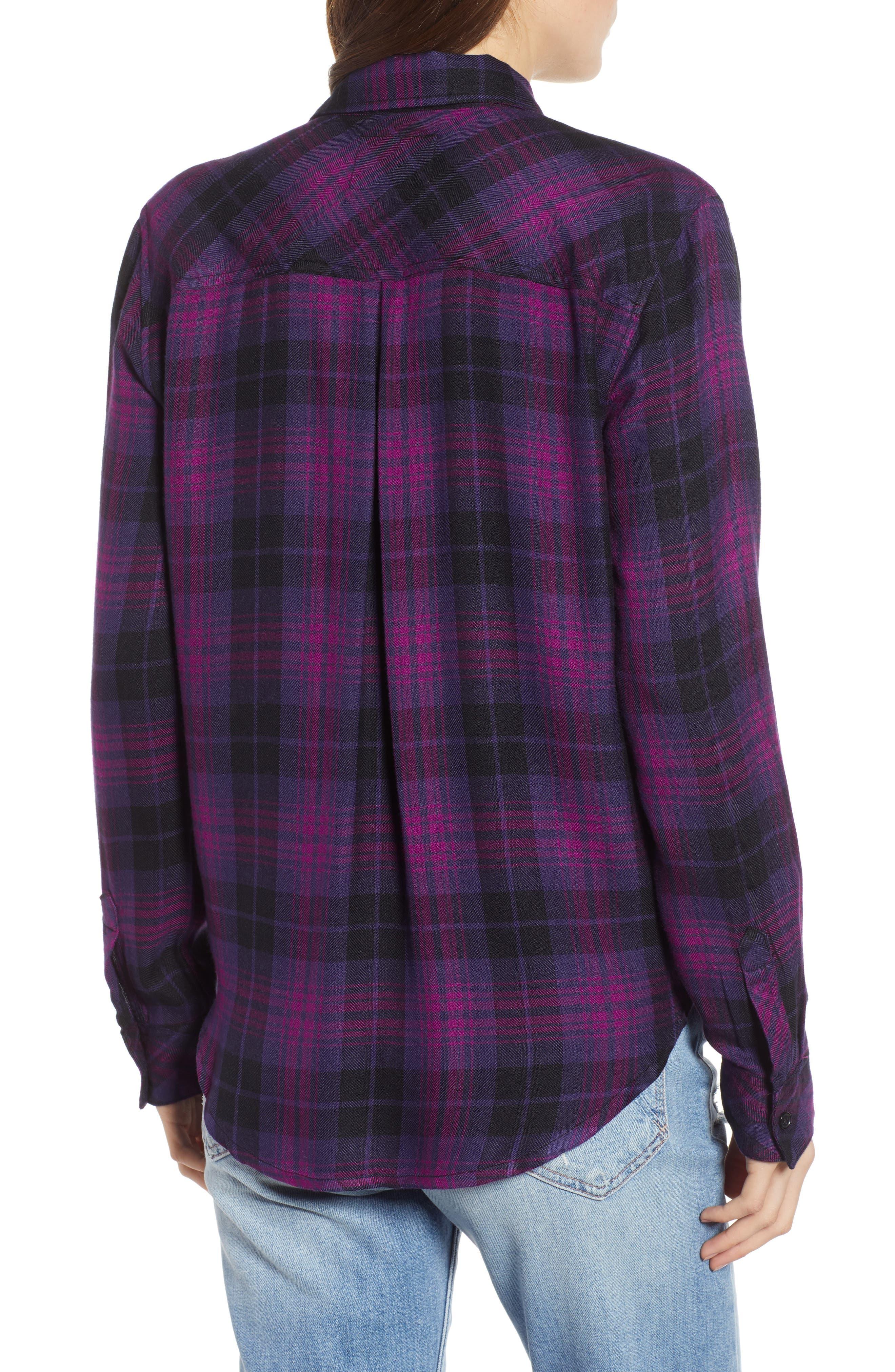 ,                             Hunter Plaid Shirt,                             Alternate thumbnail 398, color,                             501