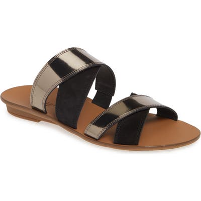 Paul Green Venice Strappy Slide SandalUS / 5UK - Black