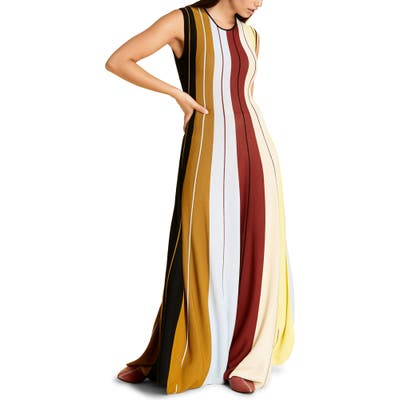 Plus Size Marina Rinaldi Gabrielle Knit Maxi Dress, Blue