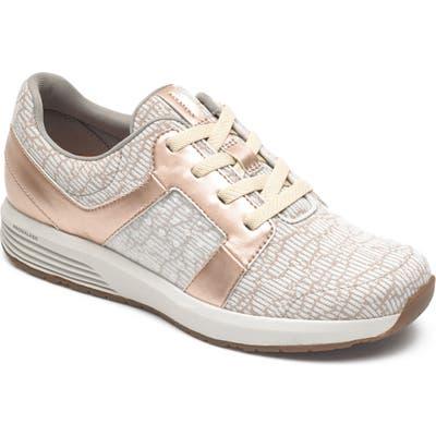 Rockport Trustride Knit Sneaker, Metallic