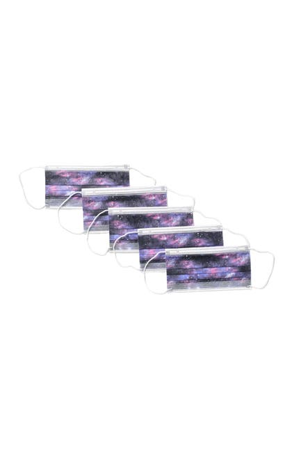 Image of Global Supply Industries Disposable Galaxy Face Mask - Pack of 25