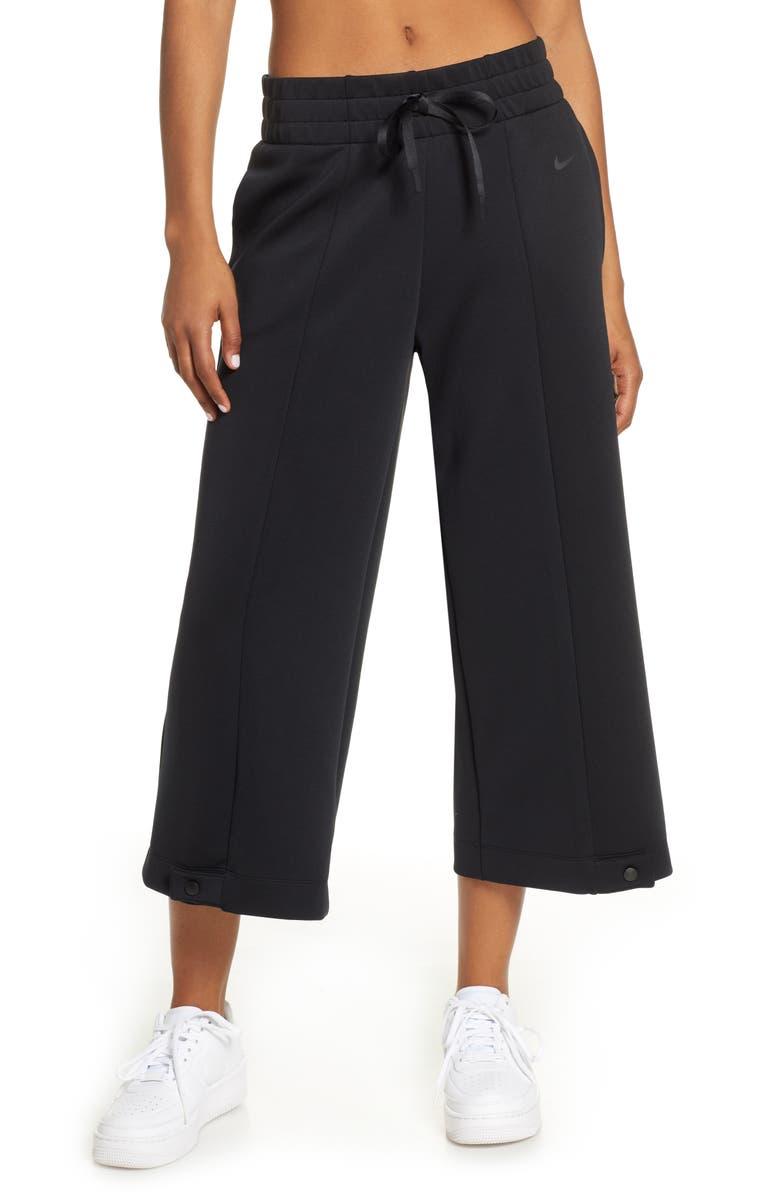NIKE Dri-FIT Crop Training Pants, Main, color, 010