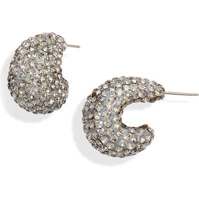 Kate Spade New York Clay Pave Huggie Hoop Earrings