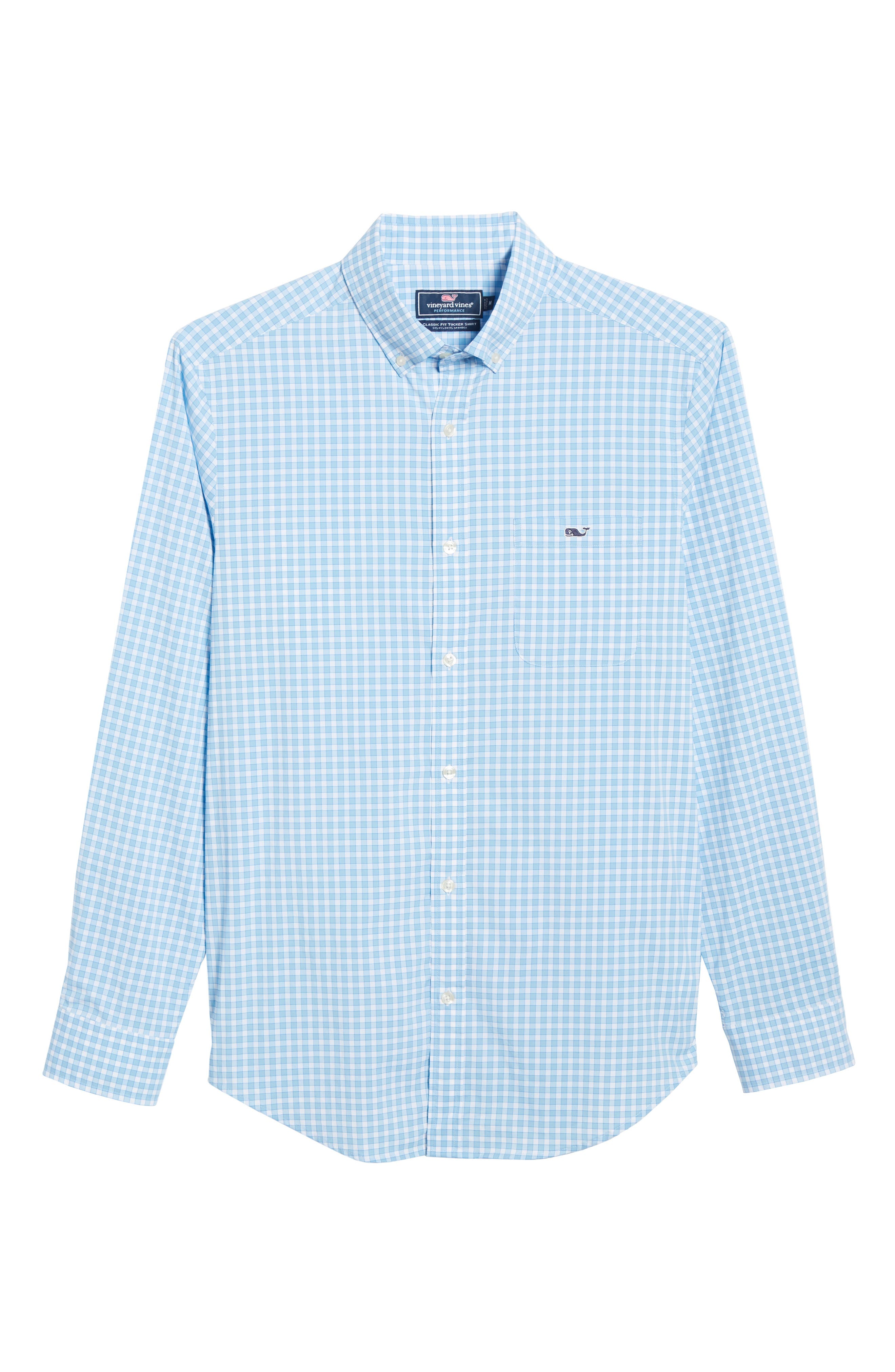 ,                             Bermuda Tucker Regular Fit Performance Sport Shirt,                             Alternate thumbnail 5, color,                             JAKE BLUE