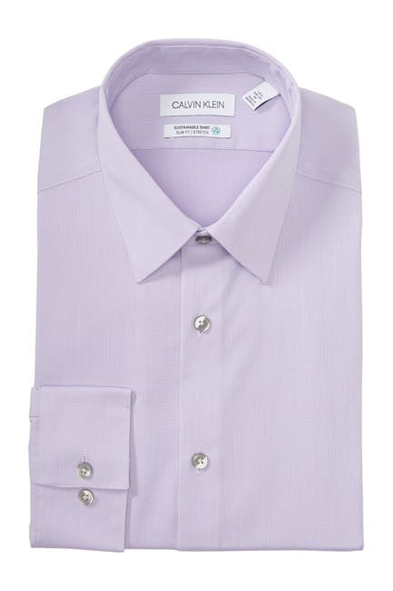 Image of Calvin Klein Sustainable Slim Fit Dress Shirt
