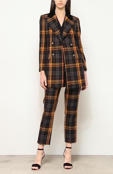 Tartan Wool Blazer, video thumbnail