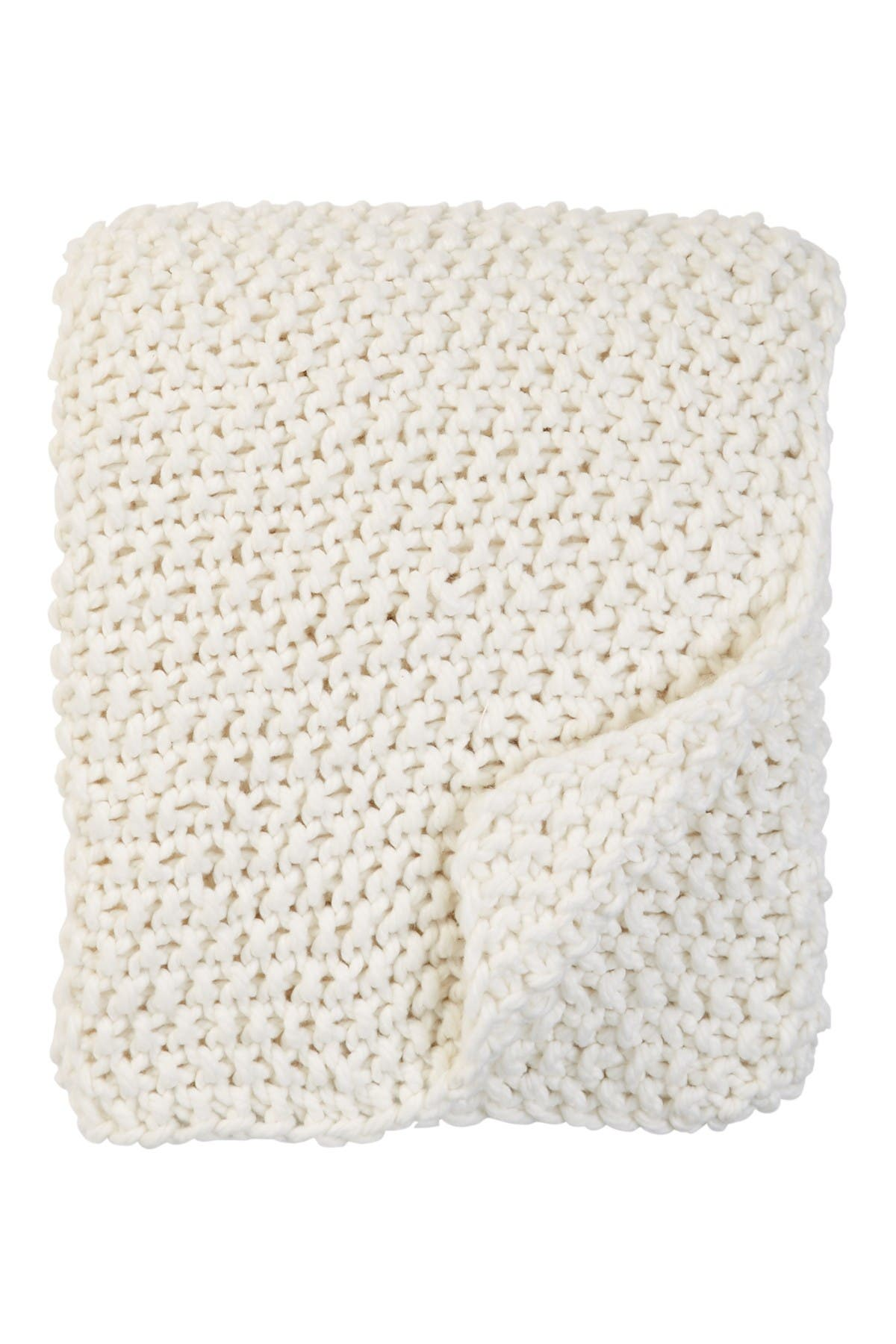 "Image of Nordstrom at Home Chunky Stitch Throw - 50"" x 60"""