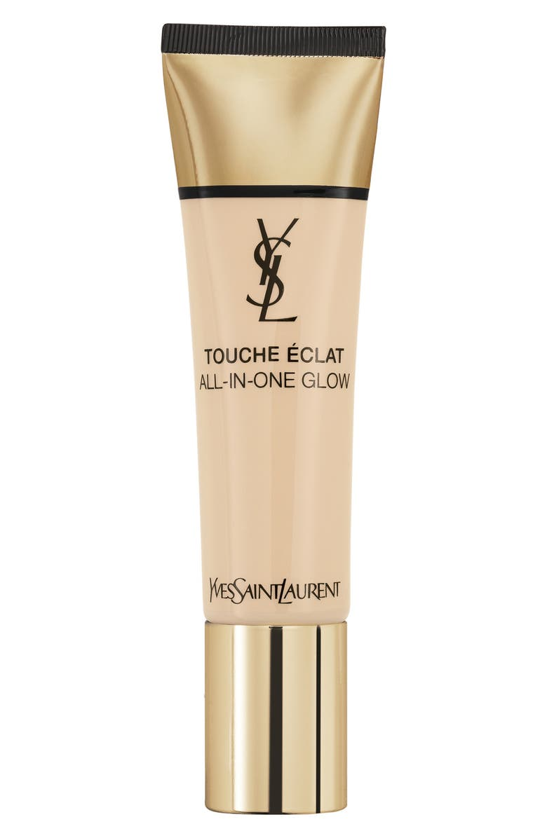 YVES SAINT LAURENT Touche Éclat All-in-One Glow Tinted Moisturizer SPF 23, Main, color, B10 PORCELAIN