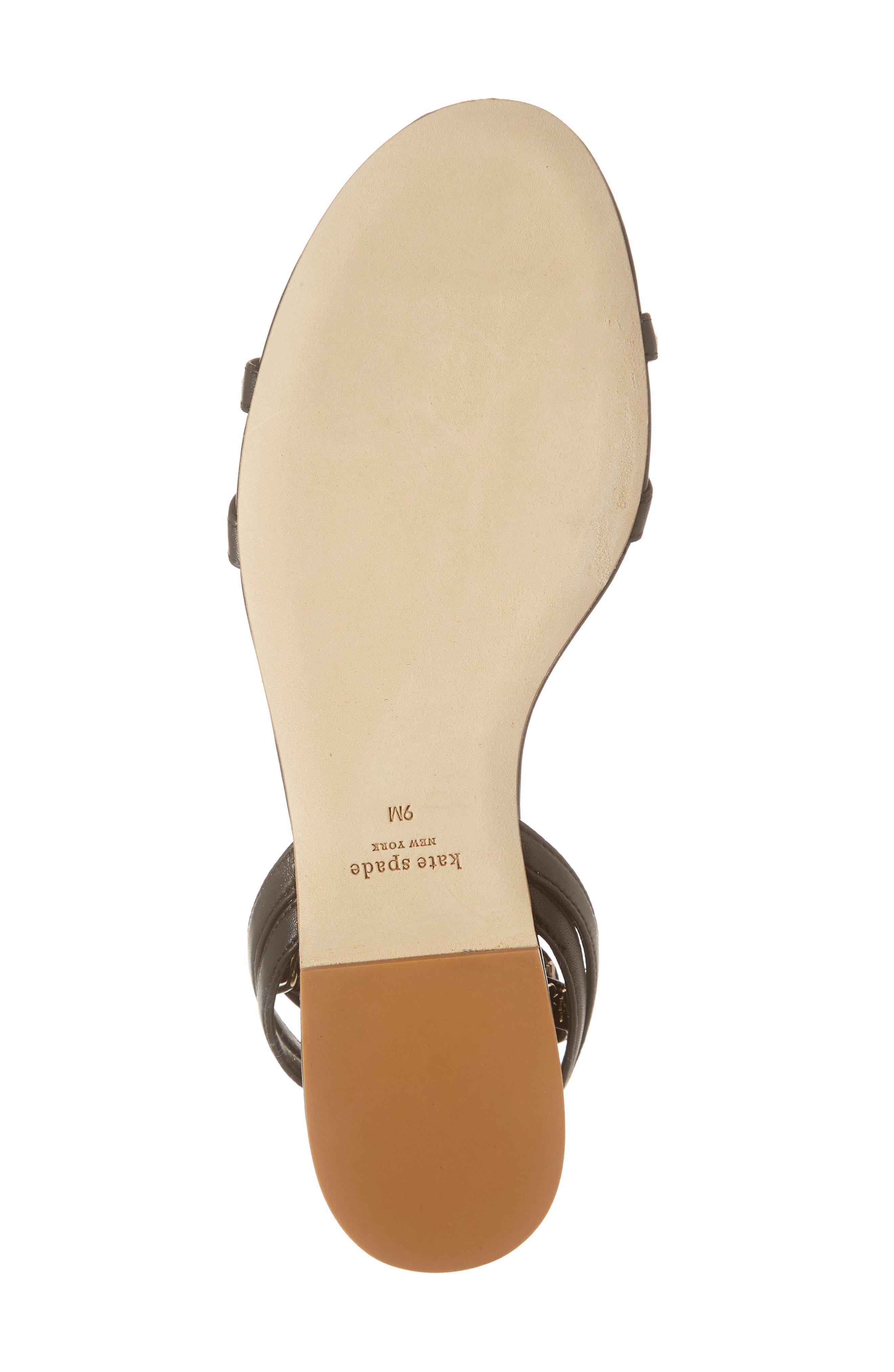 ,                             liz ankle wrap sandal,                             Alternate thumbnail 6, color,                             003