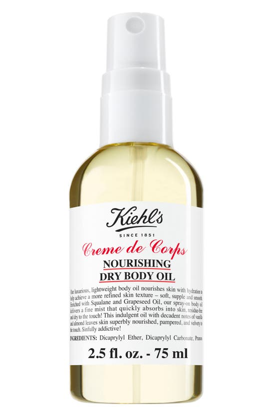 Kiehl's Since 1851 1851 Creme De Corps Nourishing Dry Body Oil, 5.9 oz
