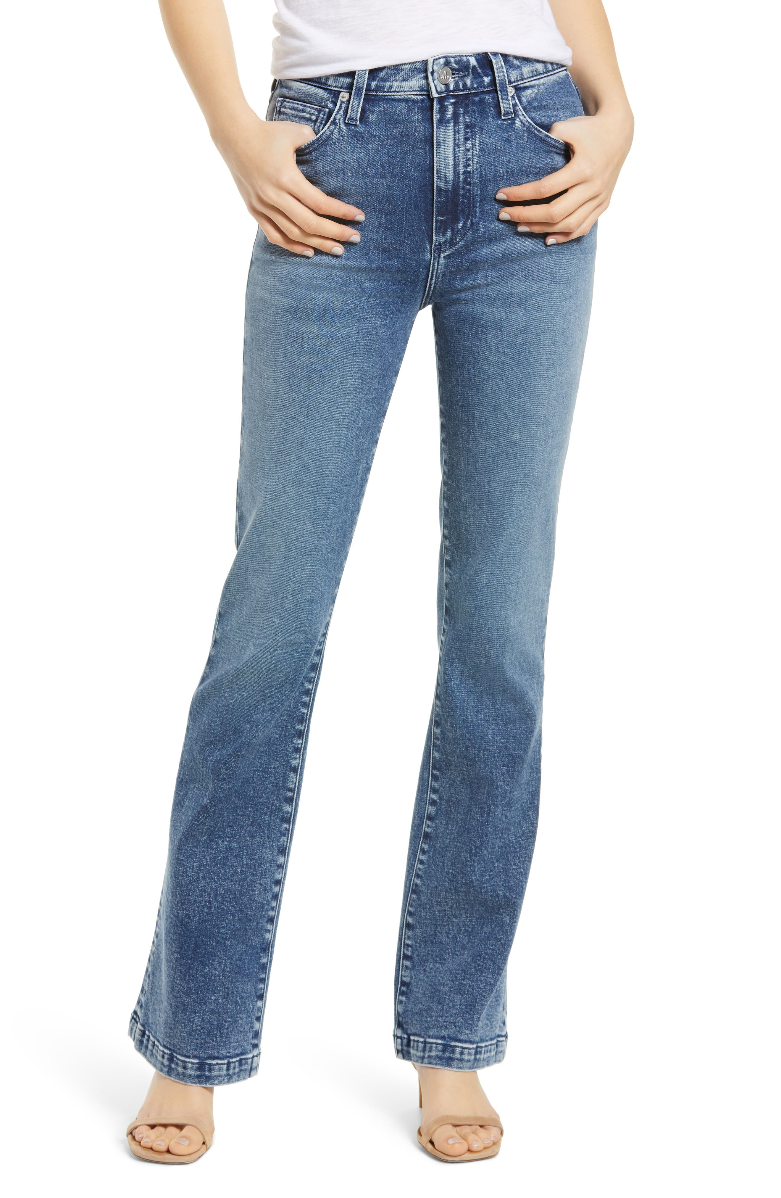Remy High Waist Flare Jeans