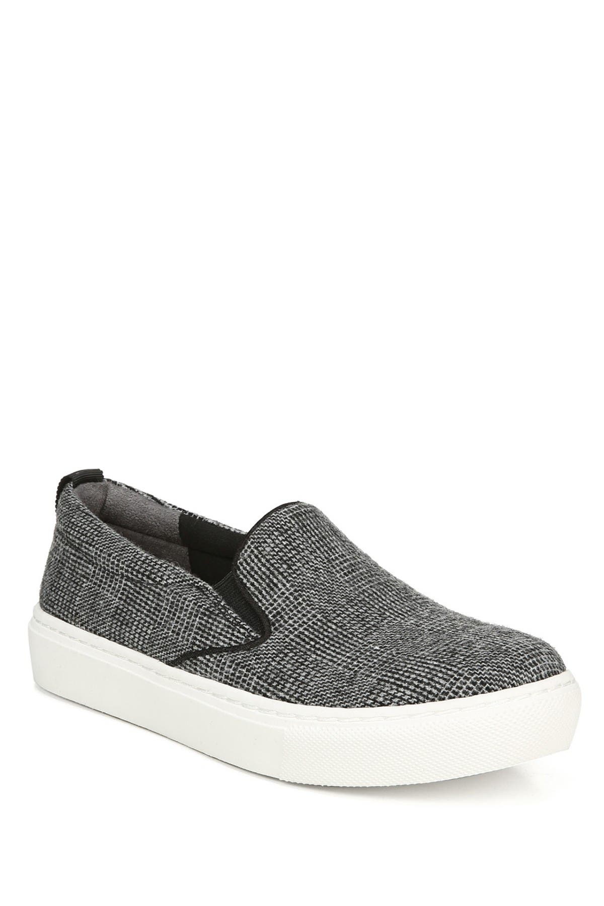 Image of Dr. Scholl's No Bad Days Plaid Slip-On Sneaker