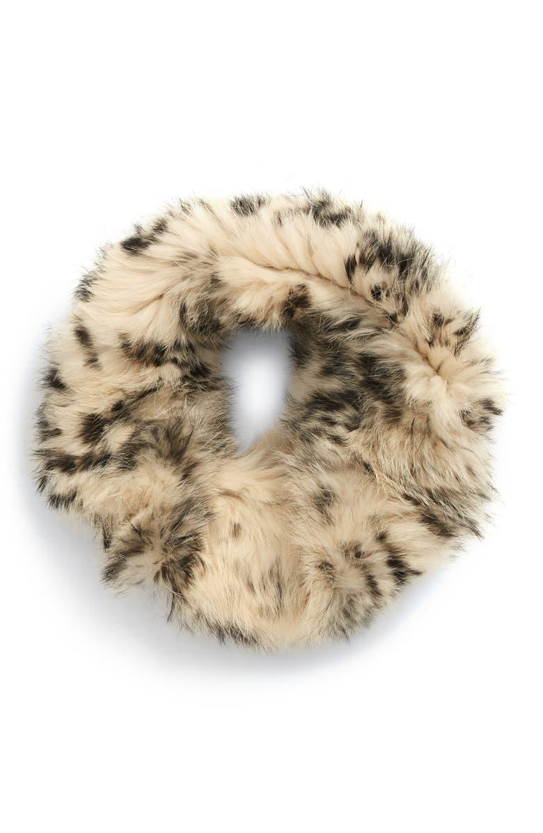 JOCELYN Genuine Rabbit Fur Cowl, Main, color, 250