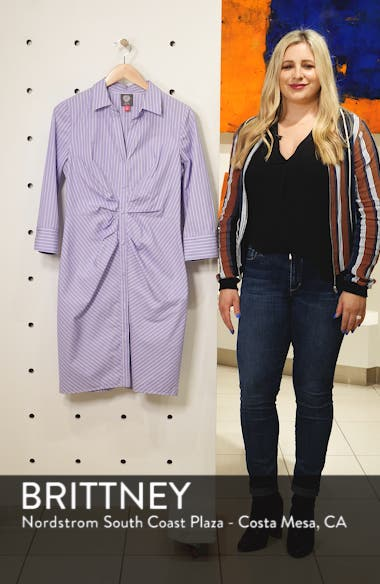 Button Front Shirtdress, sales video thumbnail
