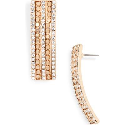 Bp. Pave Linear Drop Earrings