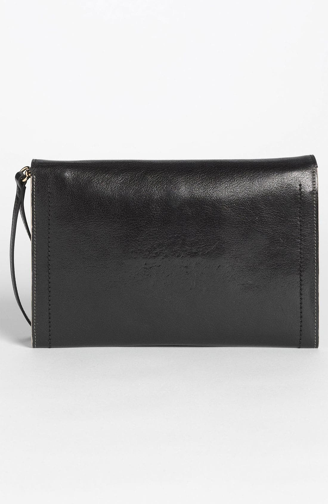,                             '1984 Isobel' Leather Clutch,                             Alternate thumbnail 2, color,                             001