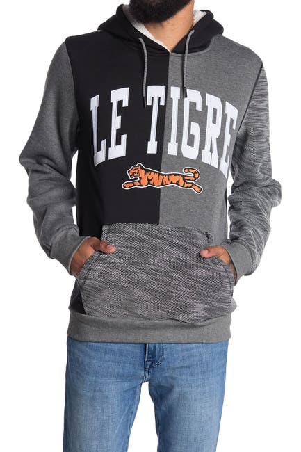 Image of Le Tigre Vance Graphic Drawstring Hoodie
