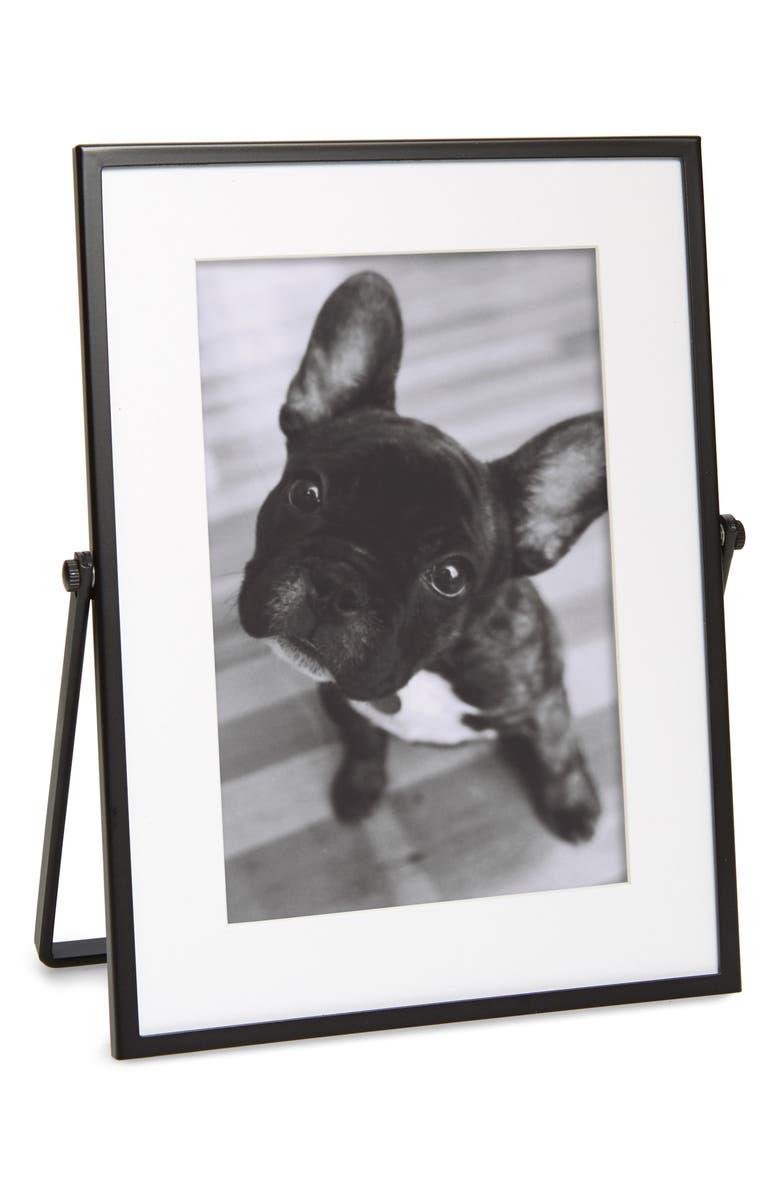 THE WHITE COMPANY Fine Black Easel Frame, Main, color, BLACK