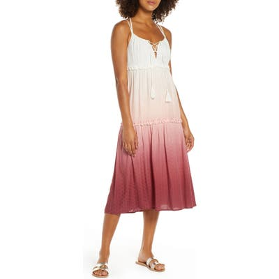Chelsea28 Carmelita Tiered Cover-Up Dress, Pink