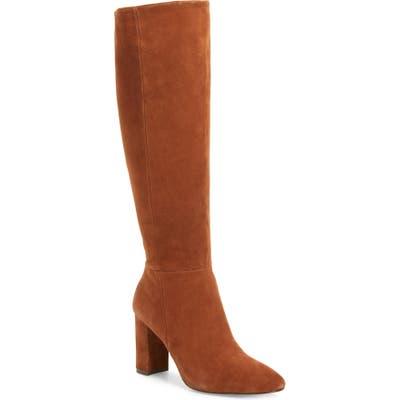 Charles David Biennial Knee High Boot- Brown