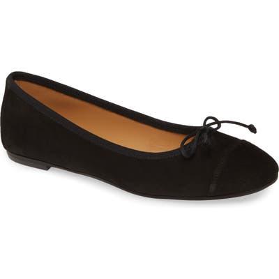 Patricia Green Gia Skimmer Flat- Black