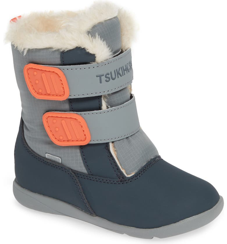 TSUKIHOSHI Teddy Waterproof Boot, Main, color, 028