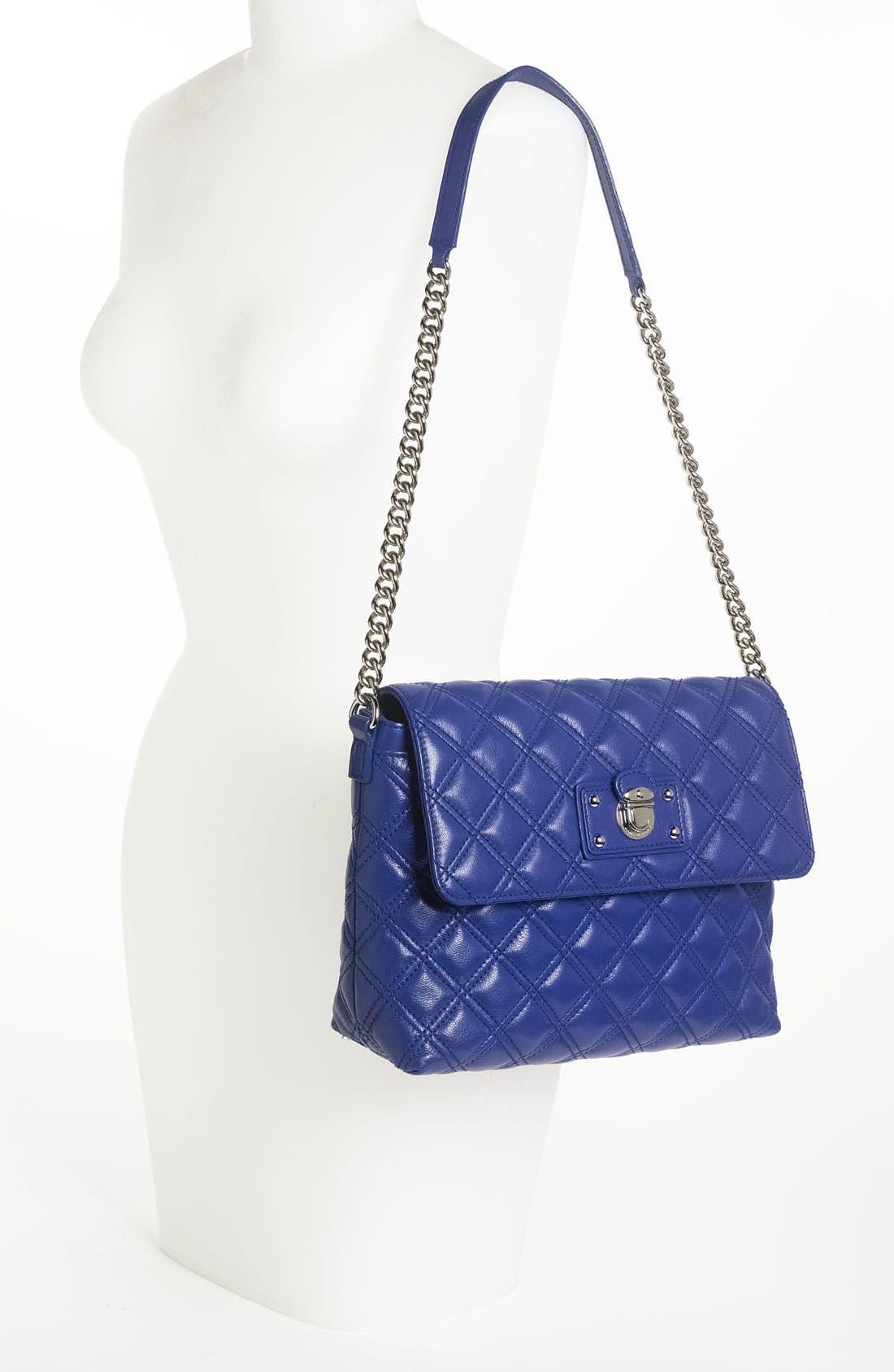 ,                             'Large Quilting Single' Leather Shoulder Bag,                             Alternate thumbnail 33, color,                             430