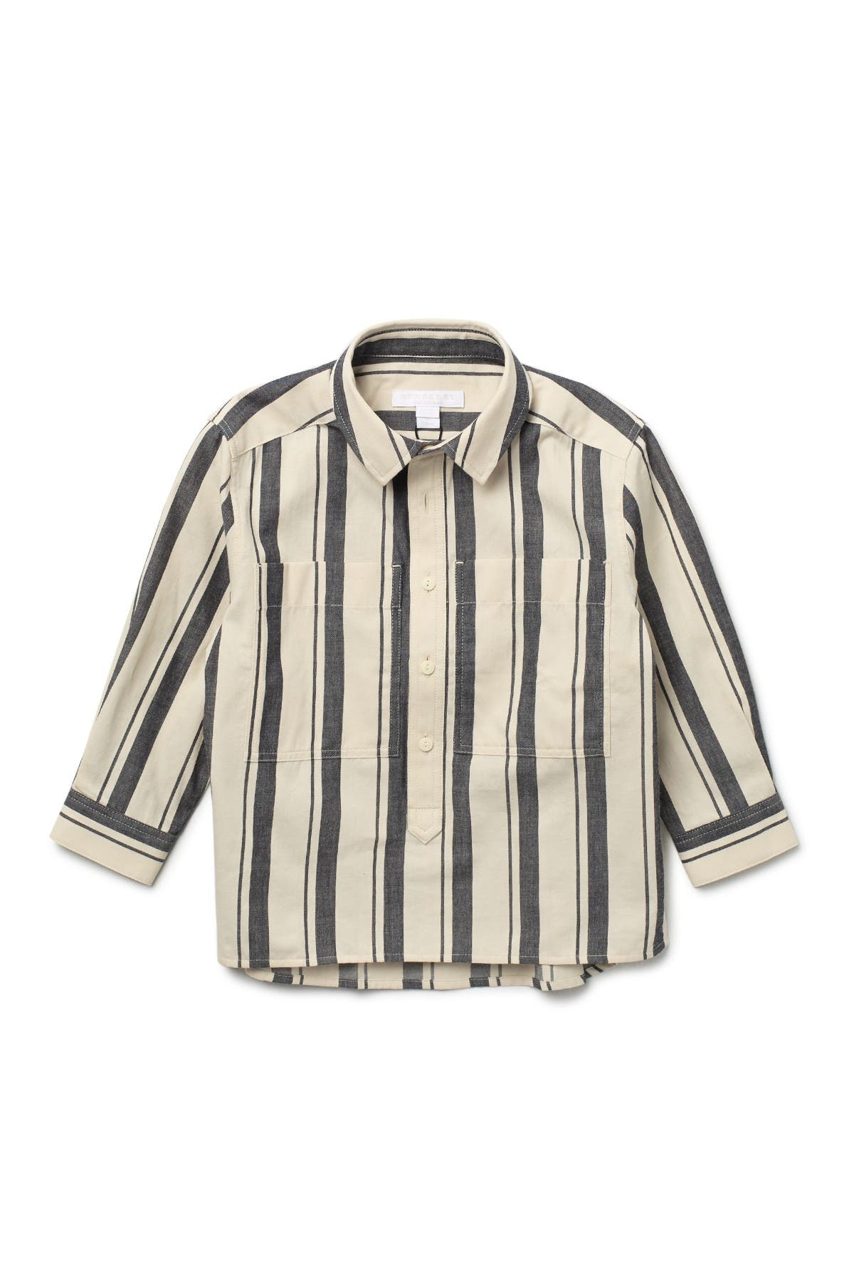 Image of Burberry Carson Stripe Long Sleeve Shirt