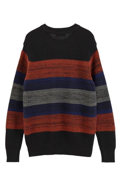 Image of Scotch & Soda Colorblock Crewneck Sweater