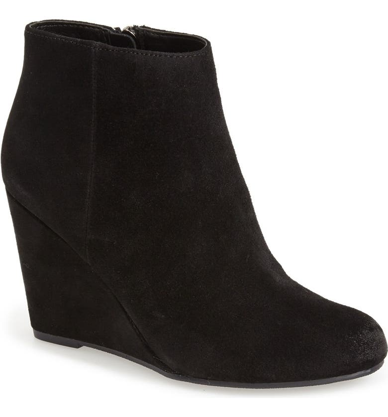 DOLCE VITA 'Garim' Wedge Bootie, Main, color, 001