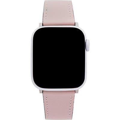 Rebecca Minkoff Leather Apple Watch Strap