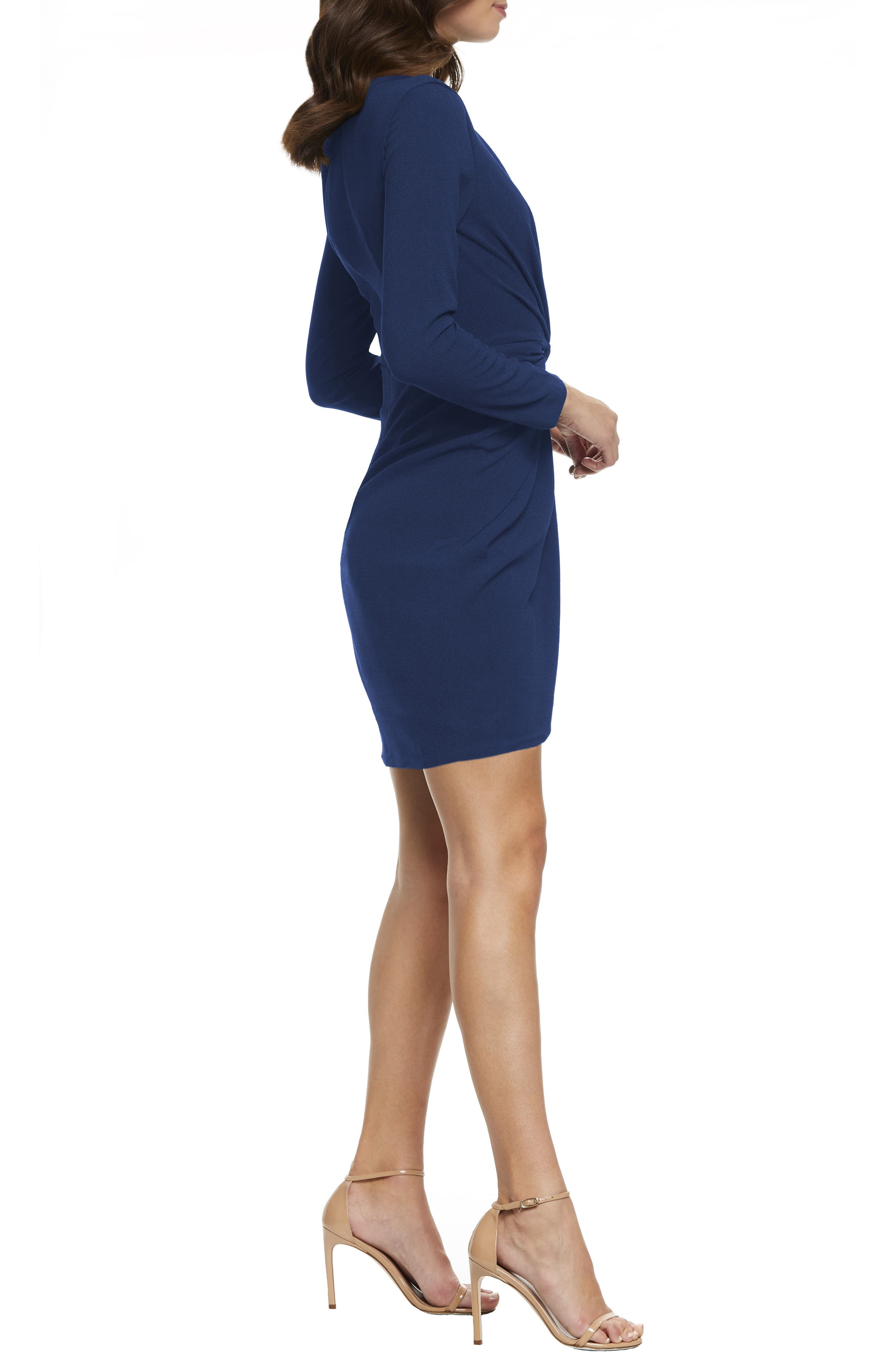 ,                             Coby Twisted Faux Wrap Cocktail Dress,                             Alternate thumbnail 14, color,                             400